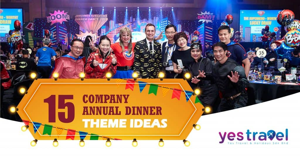15 Company Annual Dinner Theme Ideas That You Must See